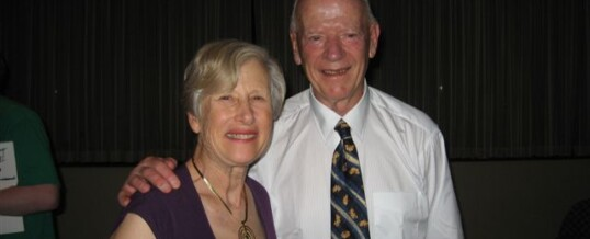 Lois & Peter Woolley – Golden Wedding