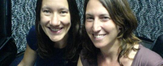 Hannah Lainton and Claire Richardson on 107.7 fm