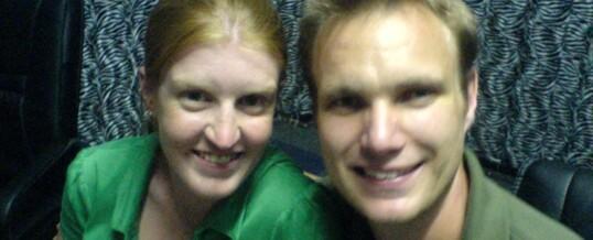 Kate & Nick Minns on Zambezi 107.7 fm