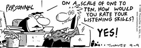 Lousy Listeners!