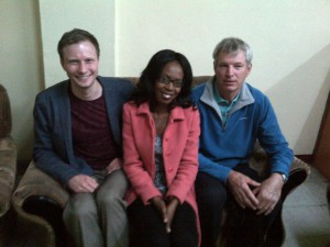 Ross Duke, Cynthia Chisangano & Doug Staff