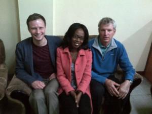 Ross Duke, Cynthia Chisangano & Doug Staff