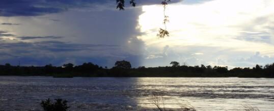 Zambia-Zimbabwe Border